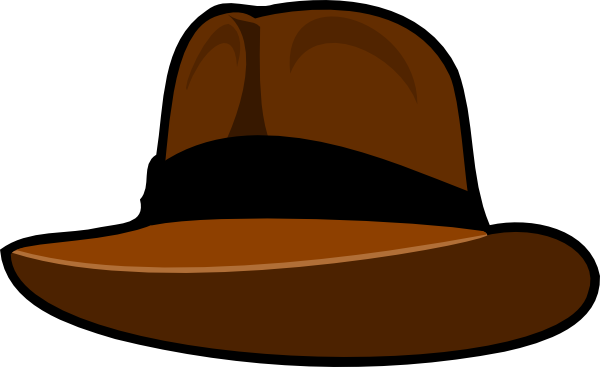 Indiana jones hat clipart freeuse stock Clothing Hat Clip Art at Clker.com - vector clip art online, royalty ... freeuse stock