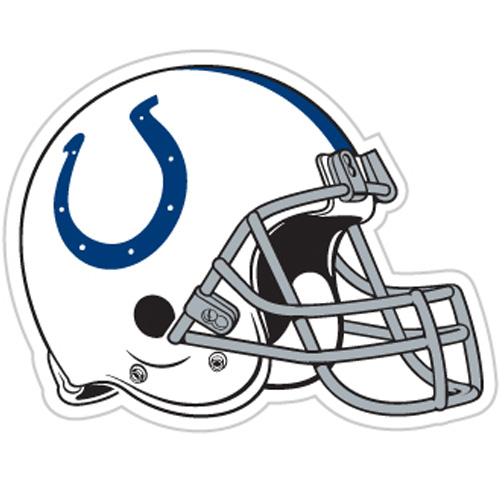 Indianapolis colts helmet clipart vector free library Indianapolis Colts Car Magnet- 12 Inch Helmet (#98724 / 4 pack) vector free library