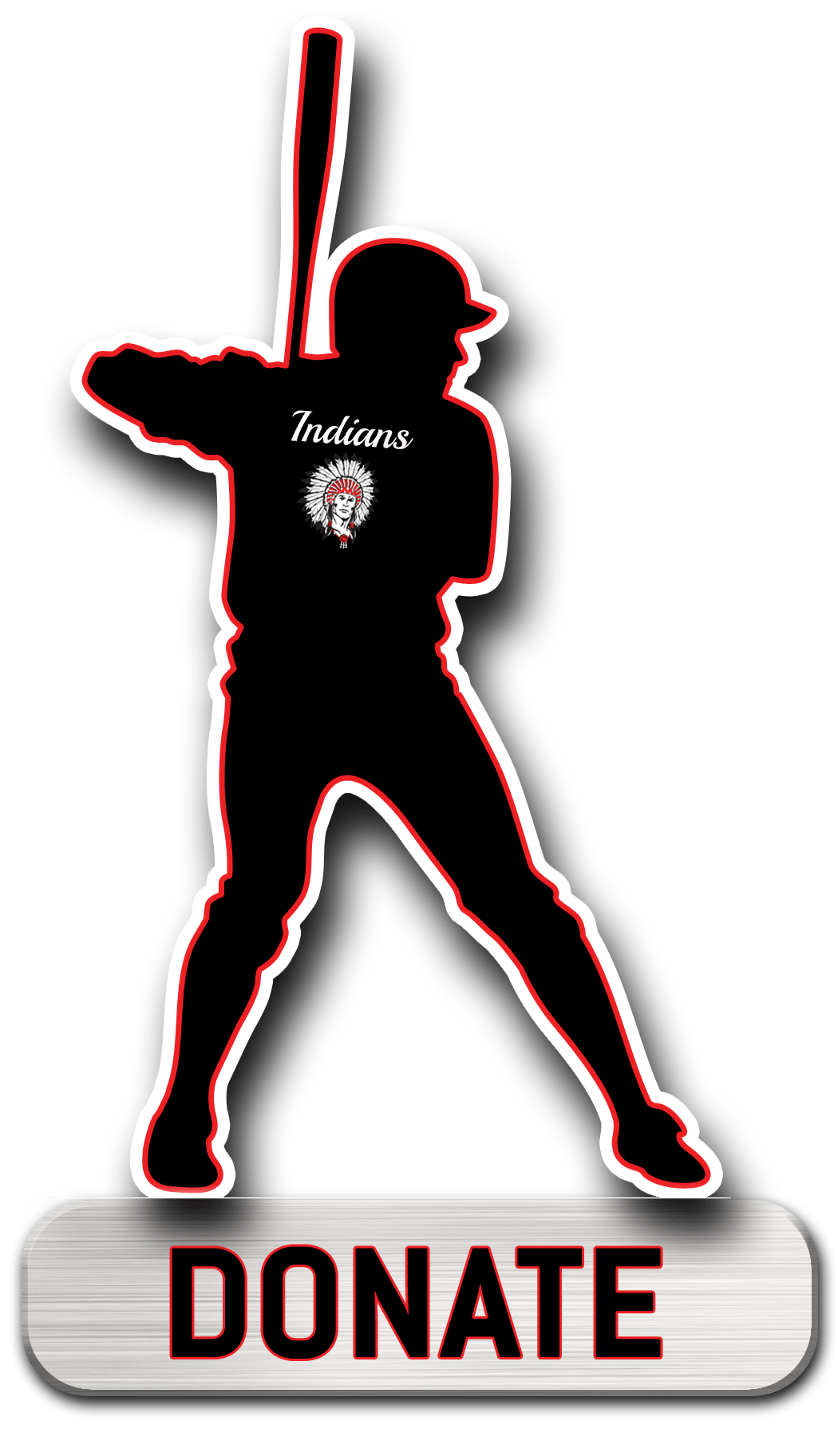 Indians baseball clipart clip library library Dayton Youth Baseball | clip library library