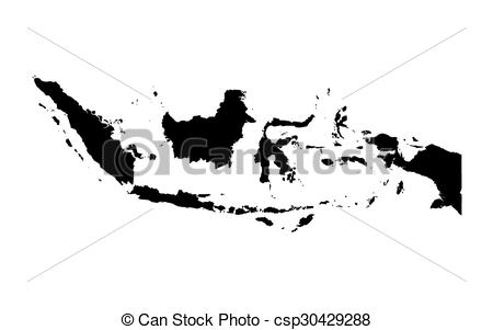 Indonesia black and white clipart clip art transparent download Vector of black map of Indonesia csp30429288 - Search Clip Art ... clip art transparent download