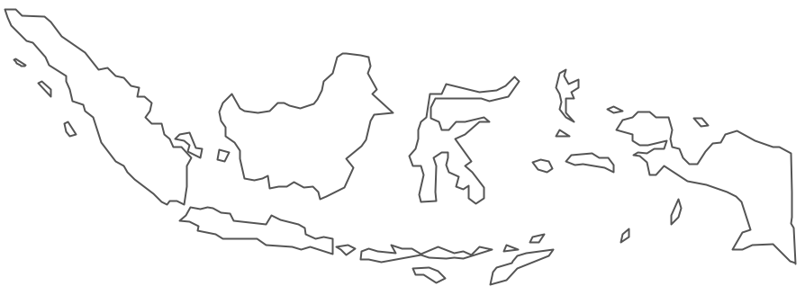 Indonesia black and white clipart clipart transparent Indonesia map clipart - ClipartFest clipart transparent