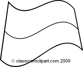 Indonesia black and white clipart clip art library World Flags : Indonesia_flag_BW : Classroom Clipart clip art library
