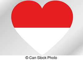 Indonesia clipart clip art royalty free library Indonesia heart Clip Art and Stock Illustrations. 60 Indonesia ... clip art royalty free library