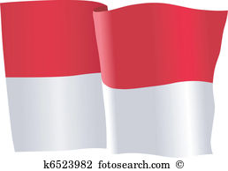 Indonesia flag clipart graphic royalty free library Indonesia flag Clipart Illustrations. 748 indonesia flag clip art ... graphic royalty free library