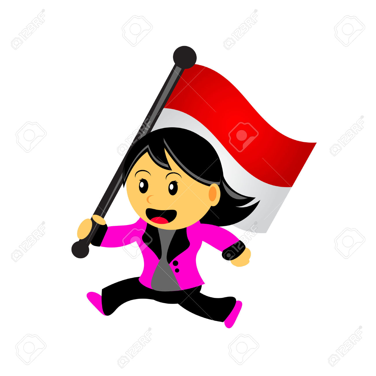 Indonesia flag clipart graphic freeuse Indonesia flag country clipart - ClipartFest graphic freeuse
