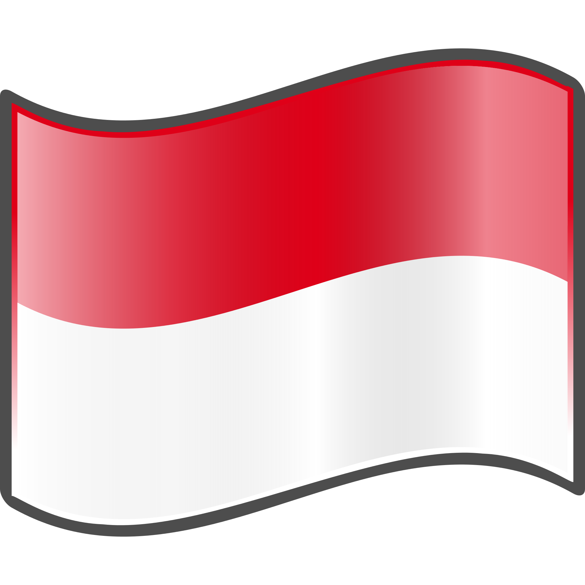 Indonesia flag clipart picture free File:Nuvola Indonesian flag.svg - Wikimedia Commons picture free
