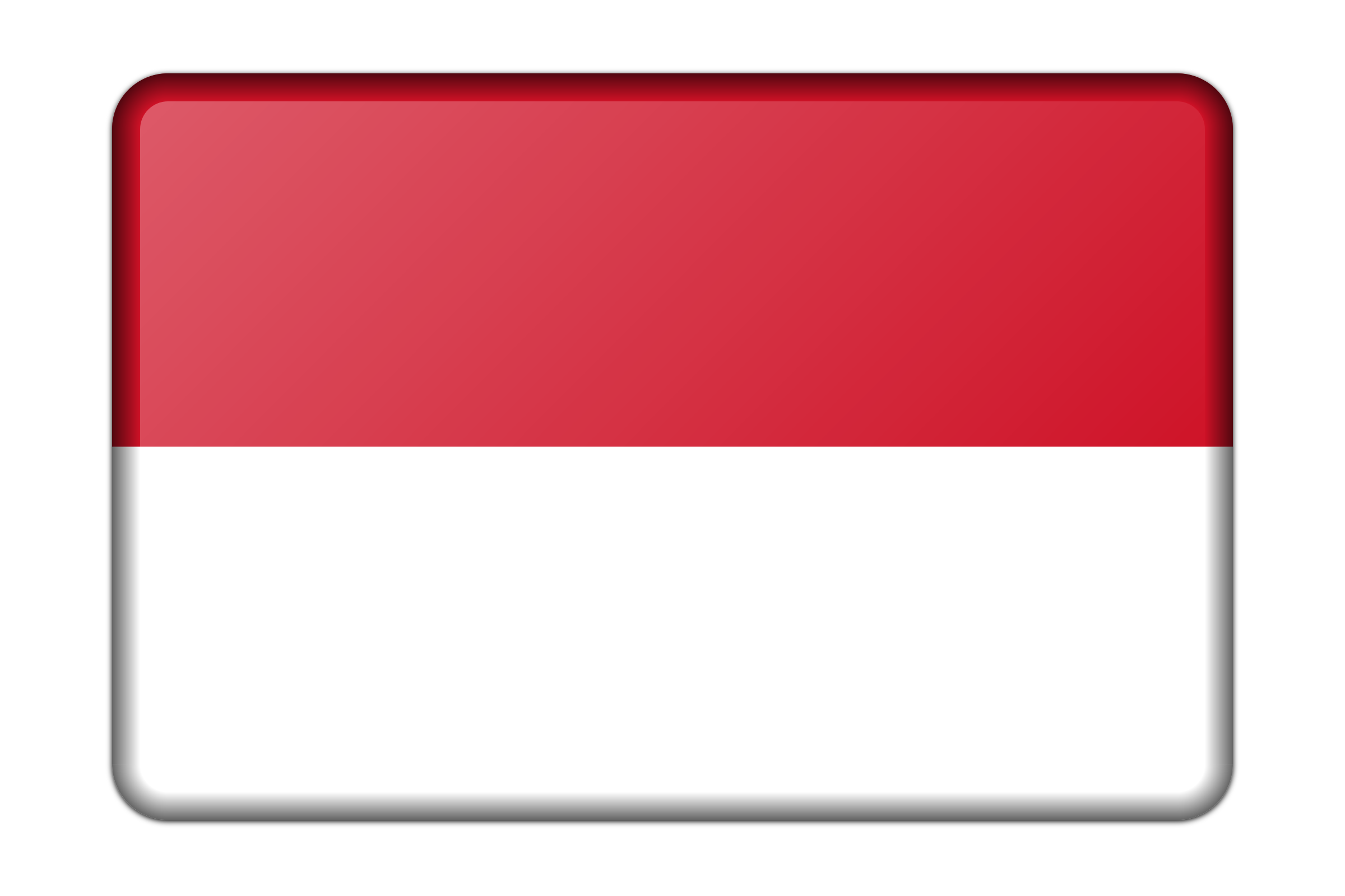 Indonesia flag clipart clip art library Clipart - Indonesia flag (bevelled) clip art library