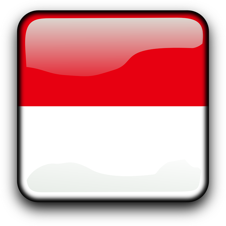 Indonesia flag country clipart vector free download Free vector graphic: Indonesia, Flag, Country - Free Image on ... vector free download