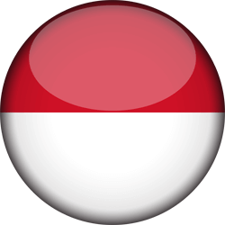Indonesia flag country clipart picture transparent library Indonesia flag icon - country flags picture transparent library