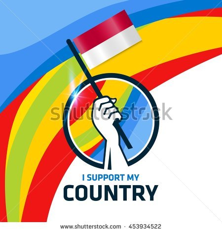 Indonesia flag country clipart png black and white Indonesian Flag Stock Images, Royalty-Free Images & Vectors ... png black and white