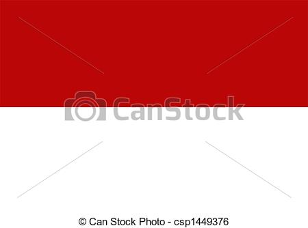 Indonesia flag country clipart clip art library download Stock Illustration of Indonesia Flag - Flag of Indonesia national ... clip art library download