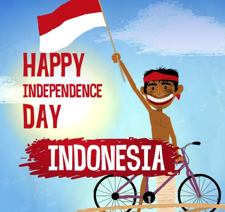 Indonesia independence day clipart free stock Indonesia independence day clipart - ClipartFest free stock