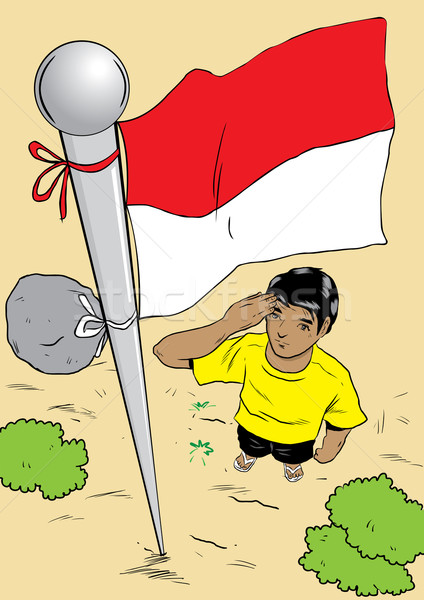 Indonesia independence day clipart clipart download Indonesian Independence Day vector illustration © Andry DJumantara ... clipart download