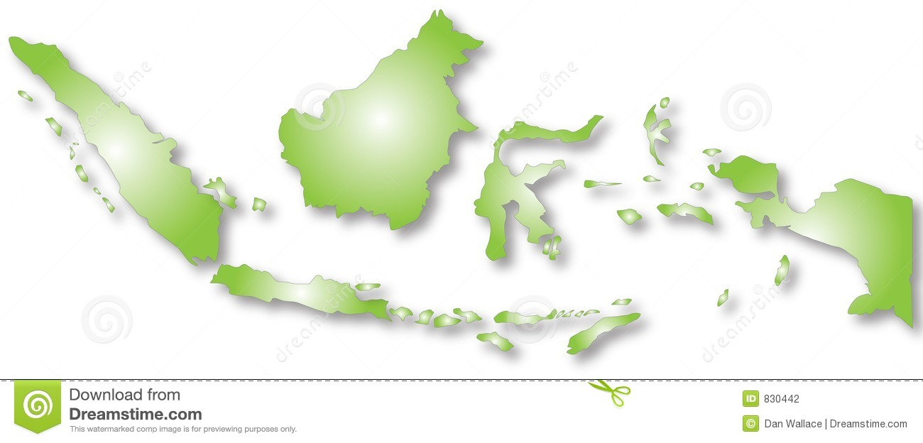 Indonesia map clip art clip free stock Indonesia map clipart - ClipartFest clip free stock