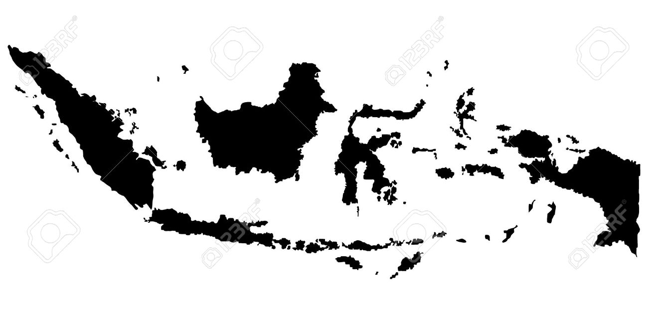 Indonesia map clip art jpg royalty free library Google map vector images clipart - ClipartFest jpg royalty free library
