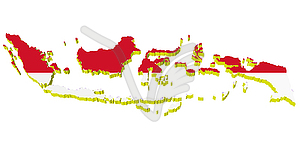 Indonesia map clip art svg freeuse library Peta indonesia clipart - ClipartFox svg freeuse library