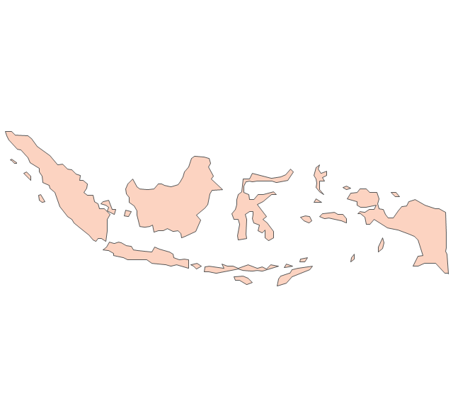 Indonesia map clip art picture black and white Indonesia map clip art - ClipartFest picture black and white
