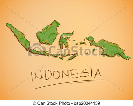 Indonesia map clip art graphic black and white library Indonesia map Clip Art and Stock Illustrations. 2,402 Indonesia ... graphic black and white library