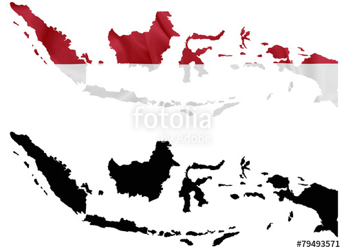 Indonesia map clipart svg black and white download Search photos