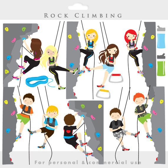 Indoor climbing clipart png black and white stock Rock climbing clipart - rock climbing clip art, sport, health ... png black and white stock