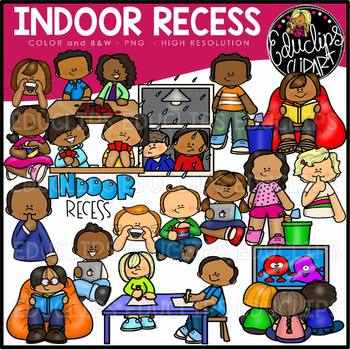 Indoor recess clipart png freeuse library Indoor Recess Clip Art Set {Educlips Clipart} png freeuse library