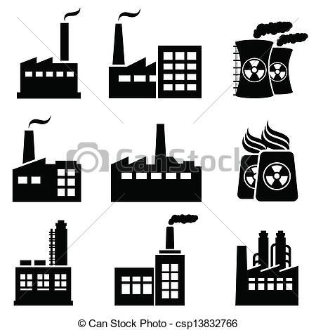 Industrial buildings clipart svg library library Industrial buildings clipart 4 » Clipart Portal svg library library