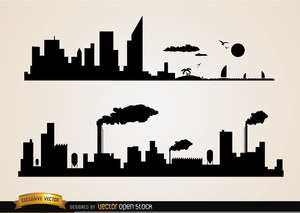 Industrial buildings clipart royalty free stock Industrial Buildings Clipart | Free Images at Clker.com - vector ... royalty free stock
