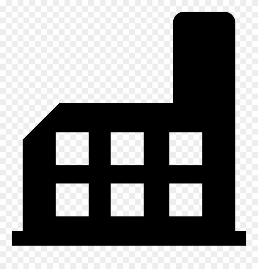 Industrial buildings clipart image Factory Building Silhouette Svg Png Icon Free Download - Fabrica ... image