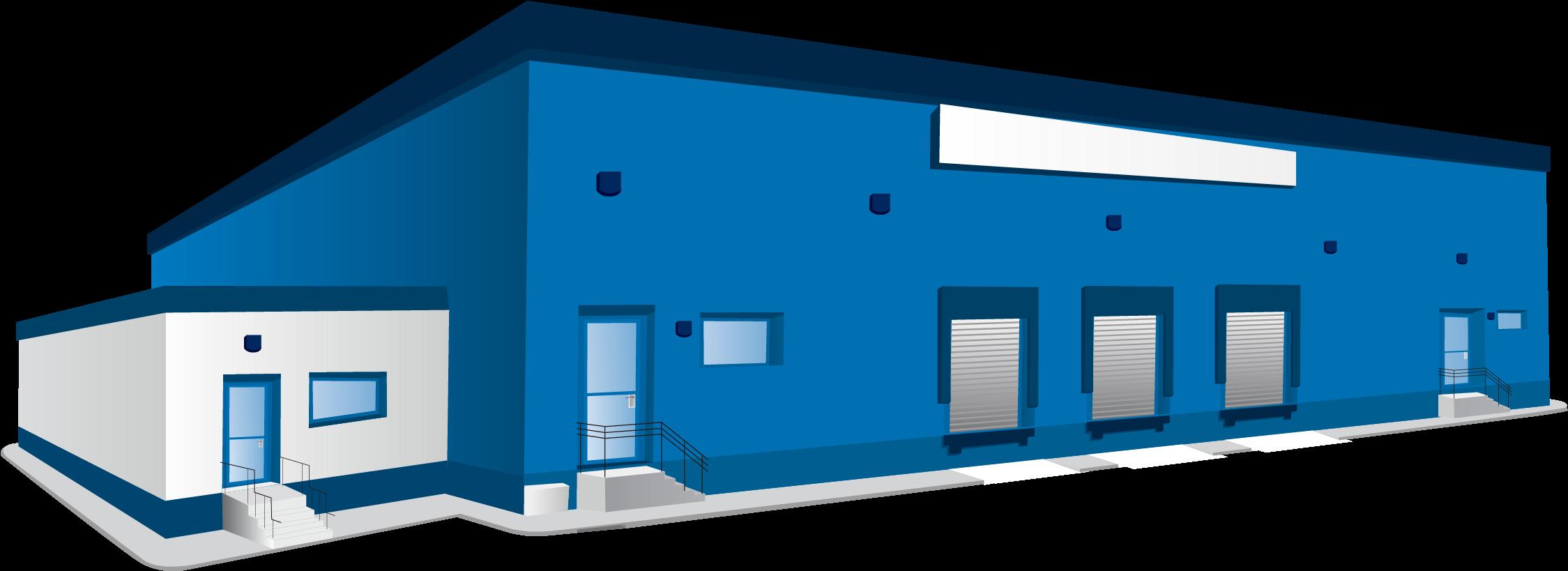 Industrial buildings clipart jpg download Building Architectural Engineering Clip Art - Factory Building ... jpg download