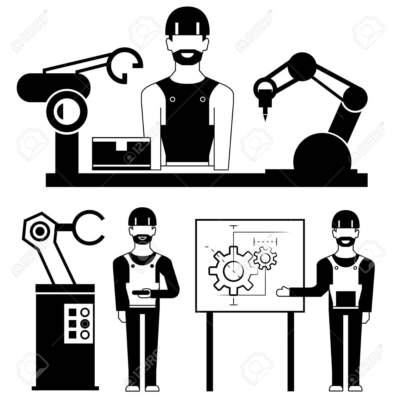 Industrial engineering clipart png library Industrial engineering clipart 5 » Clipart Portal png library