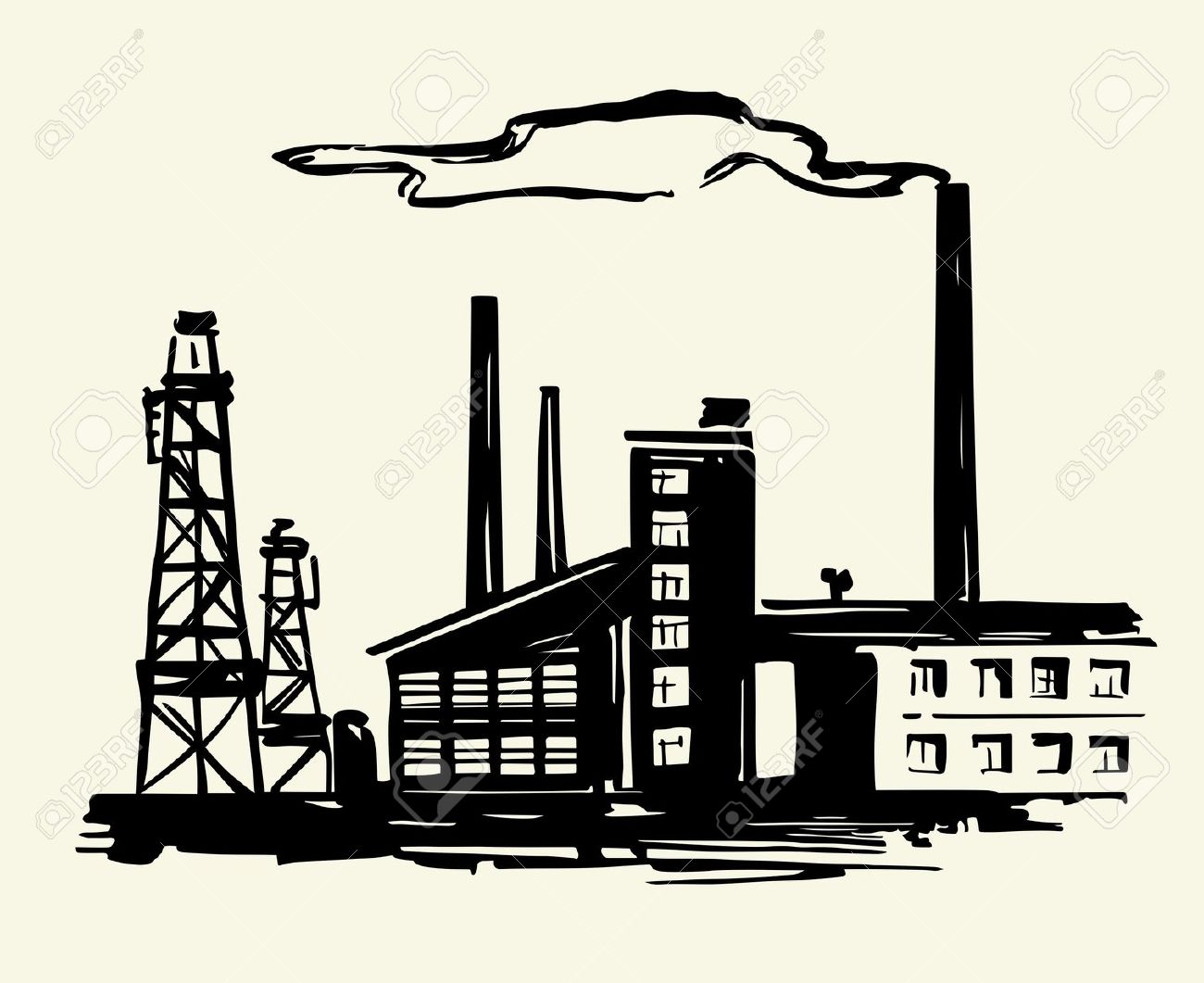 Industry clipart transparent stock Industries clipart 2 » Clipart Station transparent stock