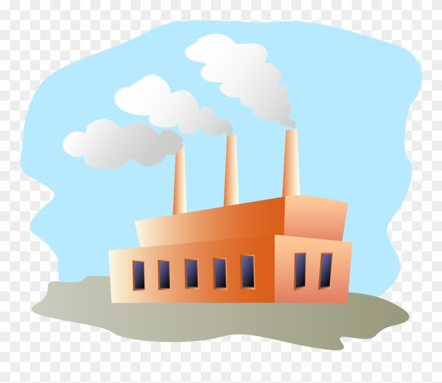 Industries clipart royalty free download Clipart Of Necessary, Manufacturer And Industries - Buildings With ... royalty free download