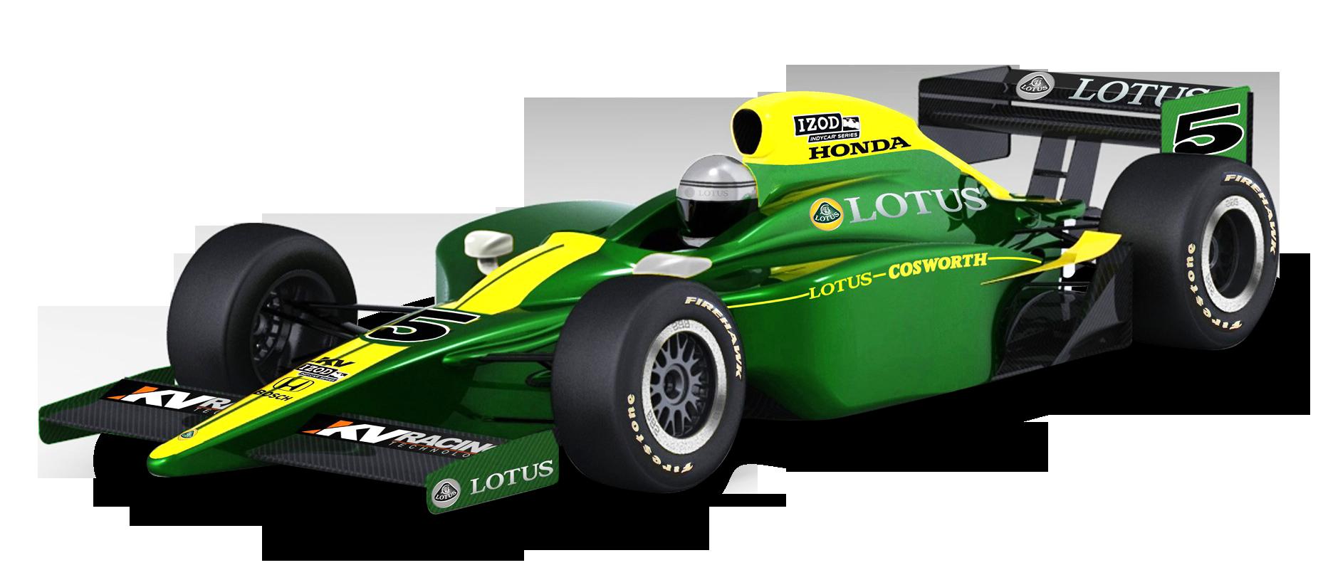 Indy car clipart image free Green Lotus Cosworth Racing Car PNG Image - PngPix image free