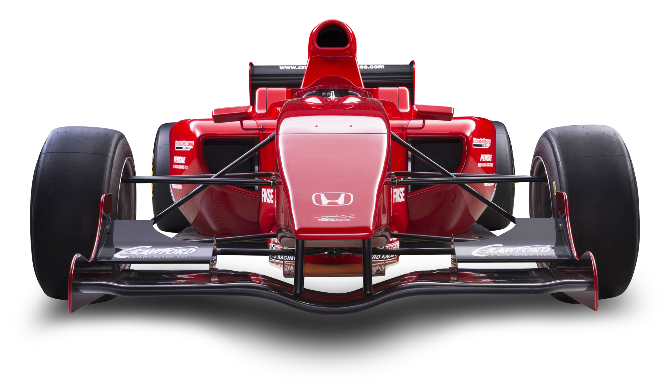 Red Honda Formula Lite Car PNG Image - PngPix clip art free library