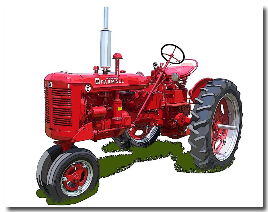 Inernational harvestor tractor clipart images banner black and white download INTERNATIONAL HARVESTER | avenueart banner black and white download