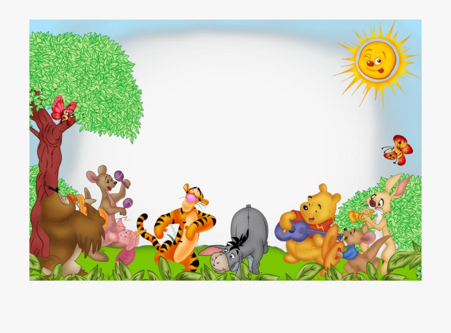 Winnie the pooh border clipart clip freeuse Marcos Infantiles Winnie Pooh Clipart Winnie The Pooh - Winnie The ... clip freeuse