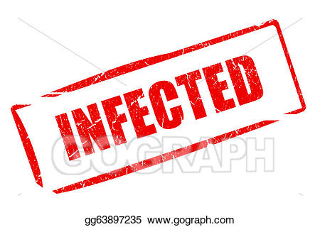 Infected clipart vector library download Stock Illustrations - Infected stamp. Stock Clipart gg63897235 - GoGraph vector library download