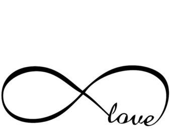 Infinity love clipart vector library download bedroom wall decal - ClipArt Best - ClipArt Best | Cricuit ... vector library download