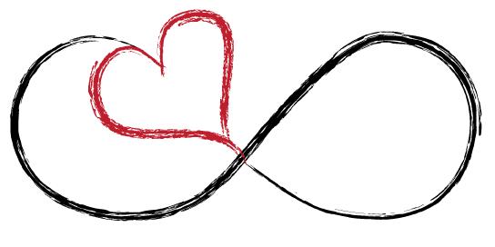 Infinity love clipart black and white Infinity Symbol Love - ClipArt Best black and white