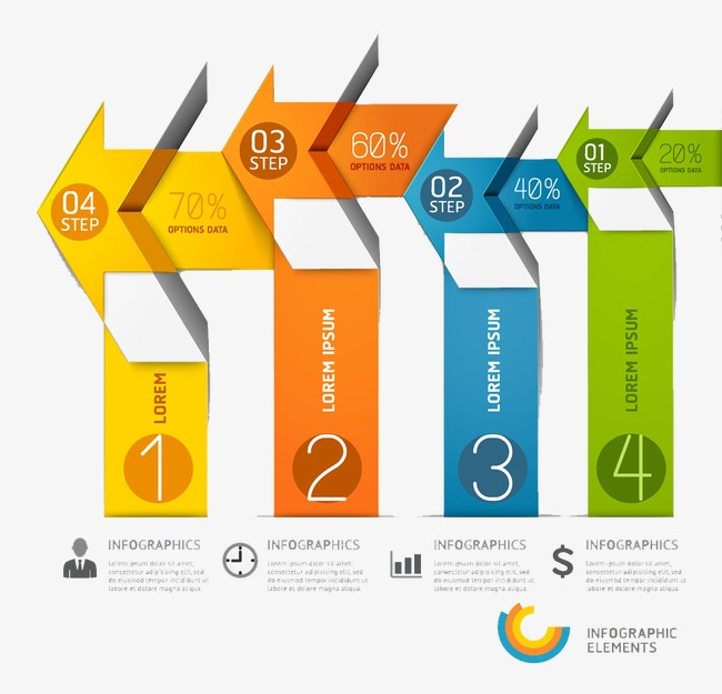 Information table clipart banner royalty free Arrow Information Table, Arrow Chart, Ppt Graphics, Ppt Chart - 625 ... banner royalty free