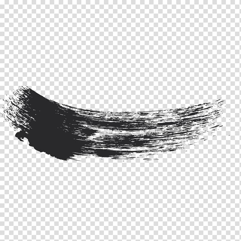 Ink brush clipart clipart black and white download Ink brush Pens Portable Network Graphics, brush strokes transparent ... clipart black and white download