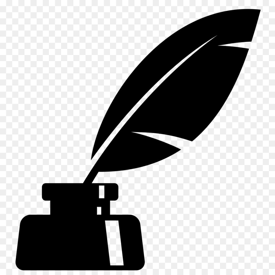 Inkwell clipart graphic free download Quill Silhouette png download - 1024*1024 - Free Transparent ... graphic free download