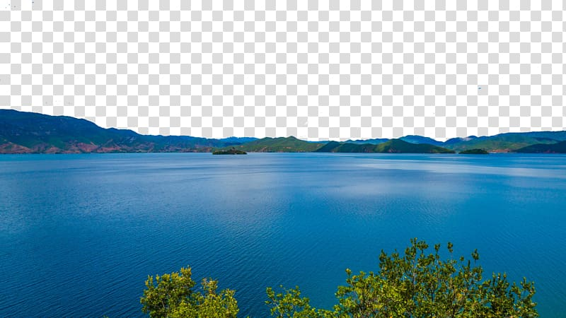 Inlet clipart clip library download Loch Water resources Inlet Sky , Lugu Lake lattice Peninsula ... clip library download