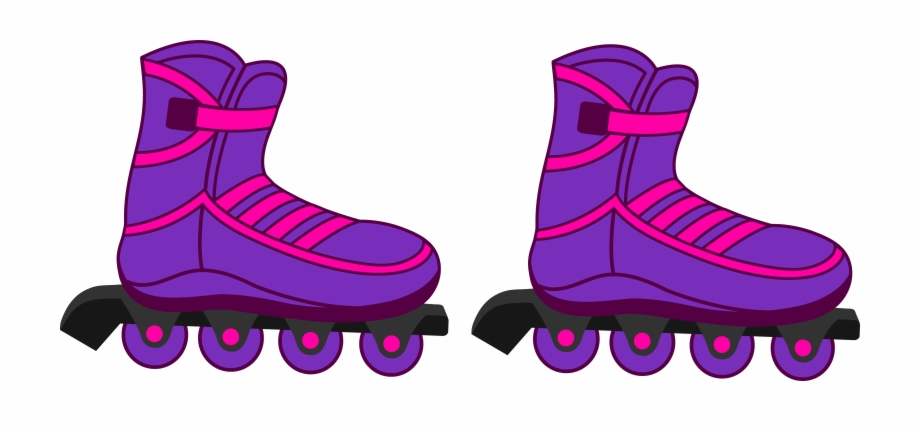 Inline skating clipart banner black and white stock Roller Skates Clipart Two Kid - Inline Skate Clip Art ... banner black and white stock