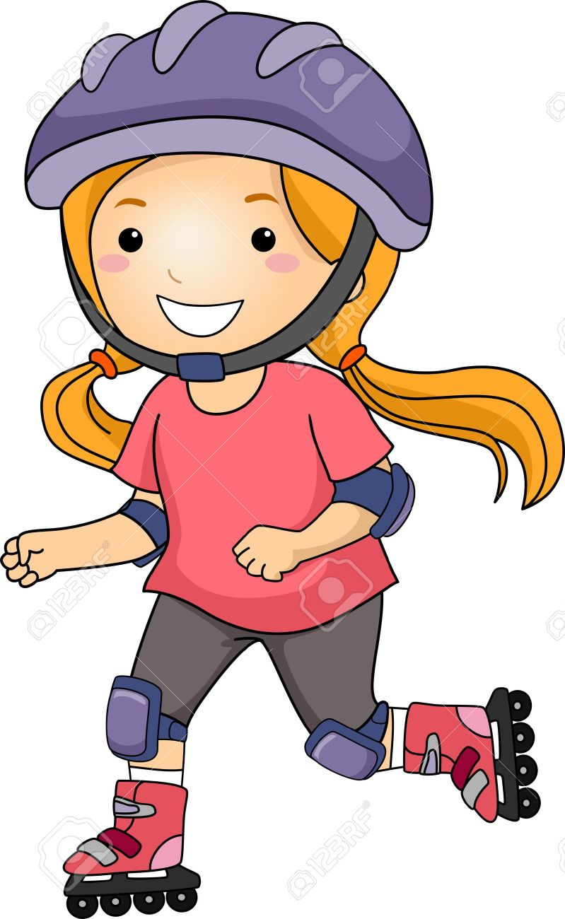 Inline skating clipart vector free library Inline Skating Clipart | Free download best Inline Skating ... vector free library