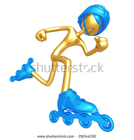 Inline speed skating clipart png black and white stock Inline Speed Skating Stock Images, Royalty-Free Images & Vectors ... png black and white stock