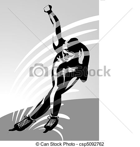 Inline speed skating clipart clip freeuse library Speed skating Illustrations and Clipart. 3,481 Speed skating ... clip freeuse library