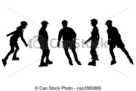 Inline speed skating clipart vector library download Inline speed skating Illustrations and Stock Art. 233 Inline speed ... vector library download