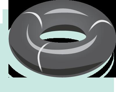 Inner tube clipart free for commercial use jpg library library Download Innertube - Tire Tube Clip Art PNG Image with No ... jpg library library
