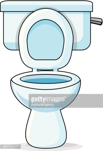 Inodoro clipart clipart freeuse download Toilet/lavatory vectores en stock - Clipart.me clipart freeuse download